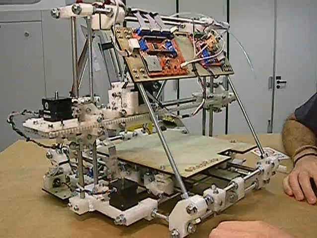 Imprimante 3D RepRap 'Mendel'